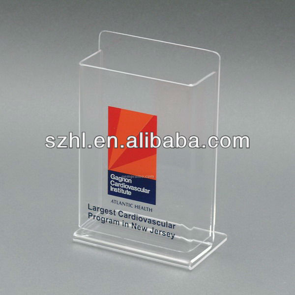 Clear Acrylic Document/flyer/pamphlet Display Holder - Buy Clear ...