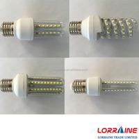 U shape energy saving electric saving 3w 4w 5w 6w 7w 8w 9w 10w 12w 15w e27 led corn lamp bulb