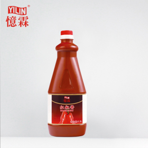 Tobasco flavour 1.1L hot chili sauce with BRC certification
