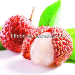 fresh lychee in tin in light syrup from China