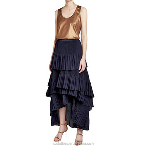 dancing wrap skirts ruffled pleated maxi skirts