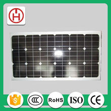 high effiency 130w mono solar panel manufacturer in China