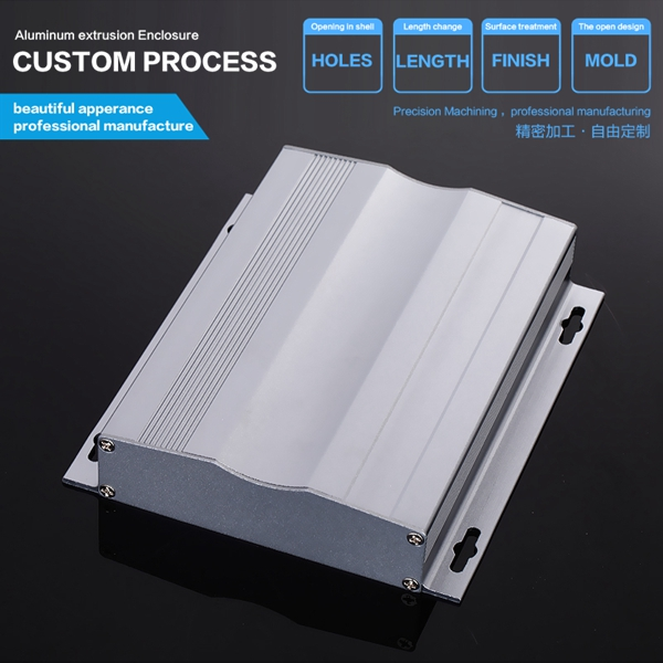 129*29*150 mm 5.08''x1.14''x5.9'' (WxHxL ) aluminium enclosure for <strong>electrical</strong>