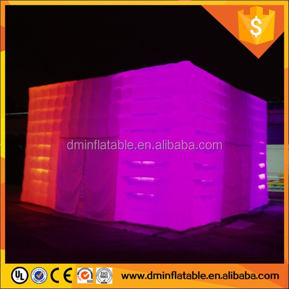 White Color Inflatable Airtight Marquee For Commercial Use