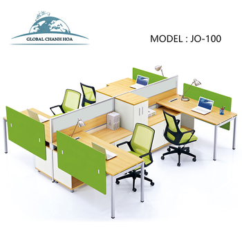 eco friendly office furniture. 2016 Factory Eco Friendly Office Furniture 4 Person Workstation Wooden Bank Counter JO-1218