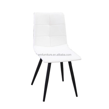 Wholesale White Leather Upholstered Fancy Bedroom Comfort Wood Chair ...
