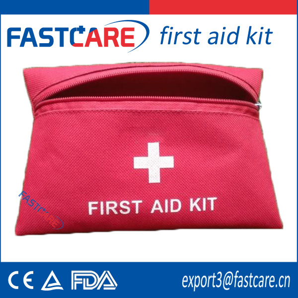 CE approved promotion nylon custom mini first aid kit