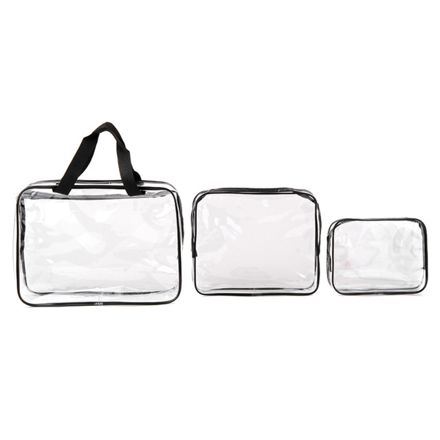 Environmental Protection Pvc Transpa Cosmetic Bag Women Travel Make Up Toiletry Bags Makeup Handbag Organizer Case