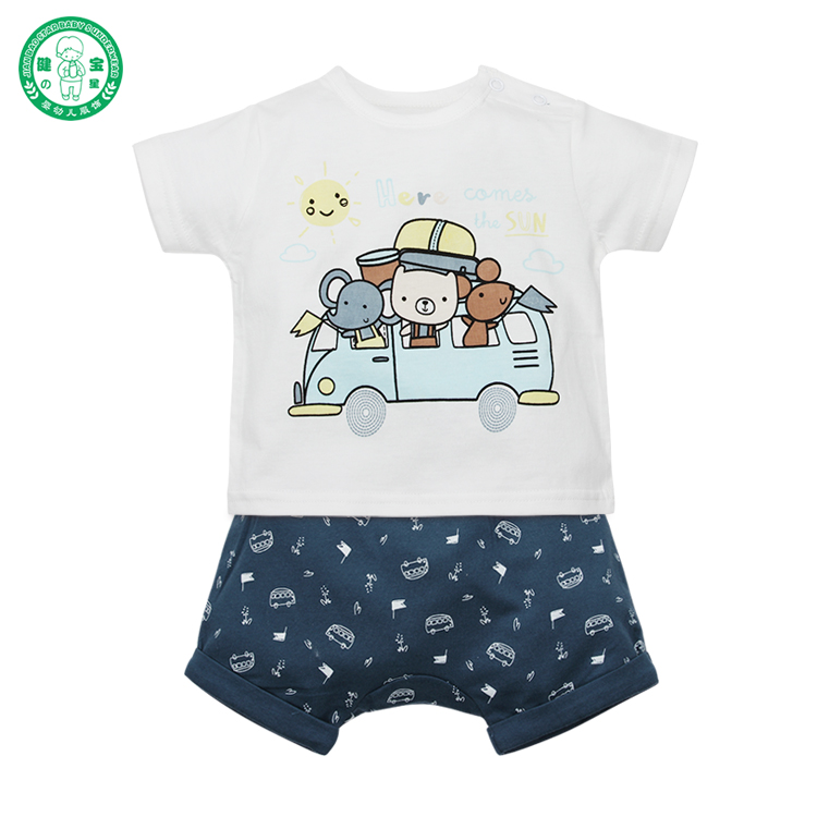 Custom design baby clothes/organic baby clothing China factory wholesale