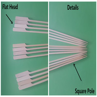 Sample Free Custom Bamboo Paddle Stick/Pick/Skewer For Wholesale
