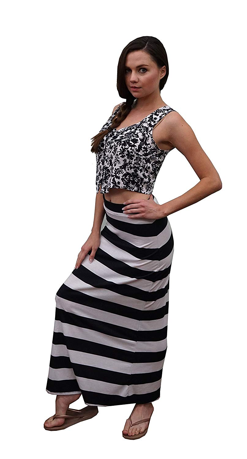 61cdeba1627f Cheap Black White Striped Maxi, find Black White Striped Maxi deals ...