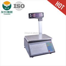 Barcode Weighing Scale,LED Dual Display,Heavy Duty Body,High Quality And Accurate Load Cell,Comfortable Keypad