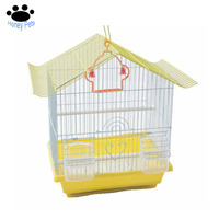 Honey Pet Good quality wooden floor standing ornate parrot bird cages for sale