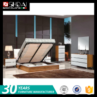latest bedroom furniture designs / new model bedroom furniture / lift up storage bed B-825L