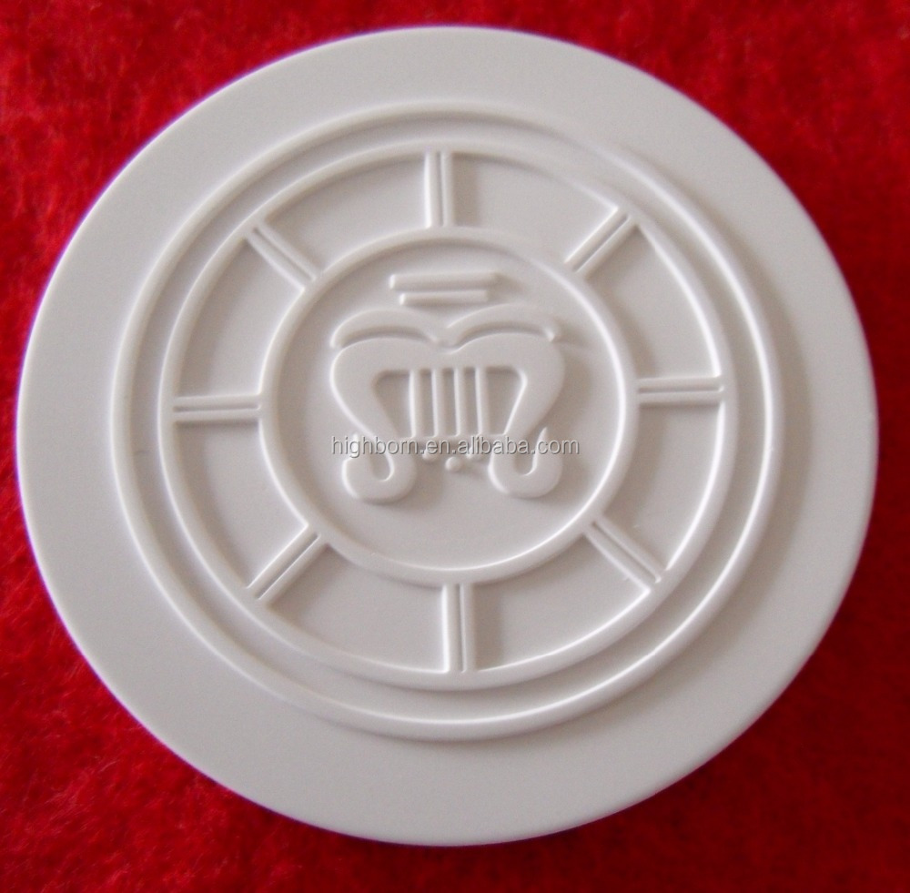 absorbable fragrance porous ceramic disc with logo