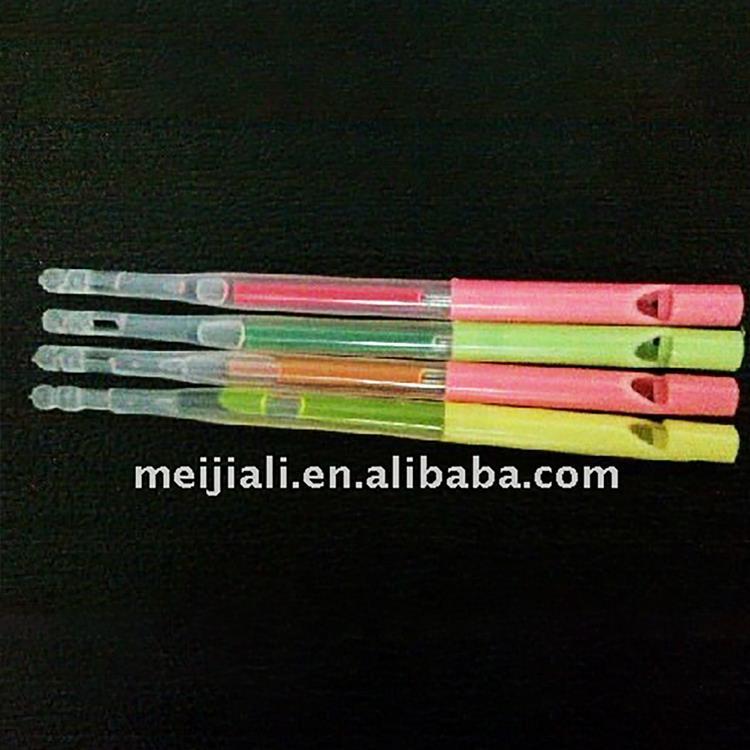 Cheap price high quality different color multiple colors whistle lollipop sticks plastic