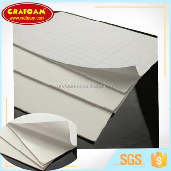 Cheap Self Adhesive Photo Mounting Board White Foam Core Photo On
