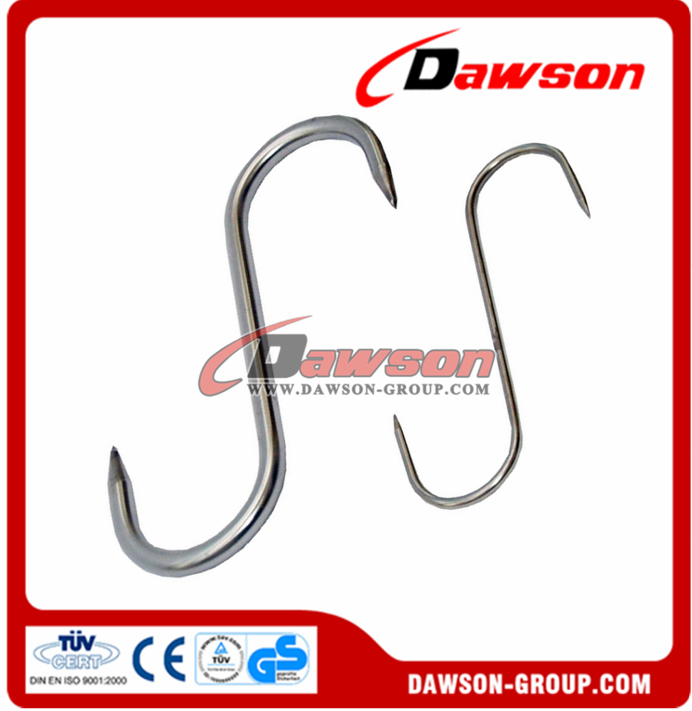 S type stainless steel meat <strong>hooks</strong>