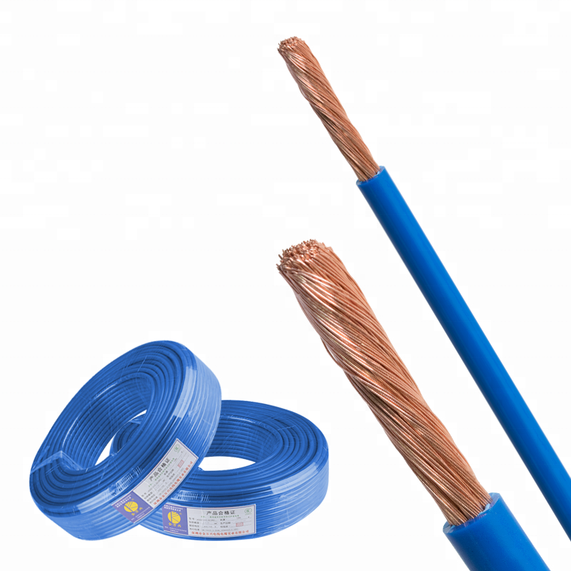 Kingmaking Cable IEC60228 flexible electric wire housing wire 4mm/6mm H07V-K copper conductor 100M VDE CE available