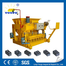 hydraulic brick making machines price manual compressed bricks machine QTM6-25 small scale brick making molding machine