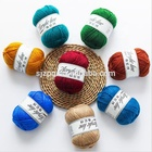 Wholesale spun 100% acrylic yarn, high tenacity polyester yarn for knitting