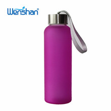 17oz Most popular products custom glass water bottle wholesale 500ml