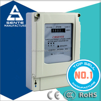 china supplier DTS196 Type Three-phase four wire electronic 3 phase watt hour electrical meter with rs485