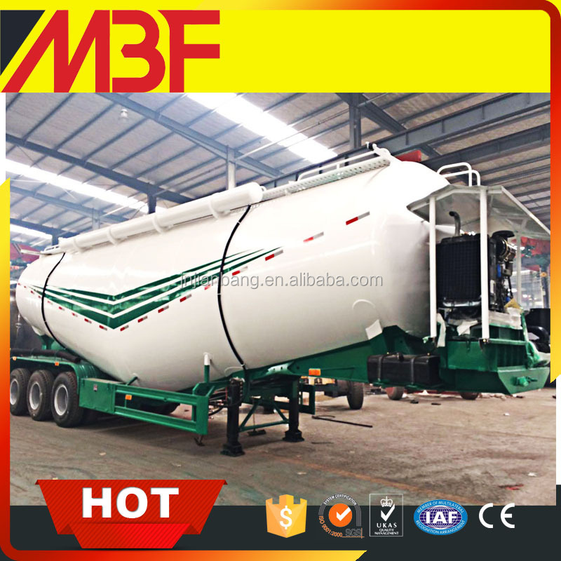 Bulk cement tanker semitrailer for namibia with good price