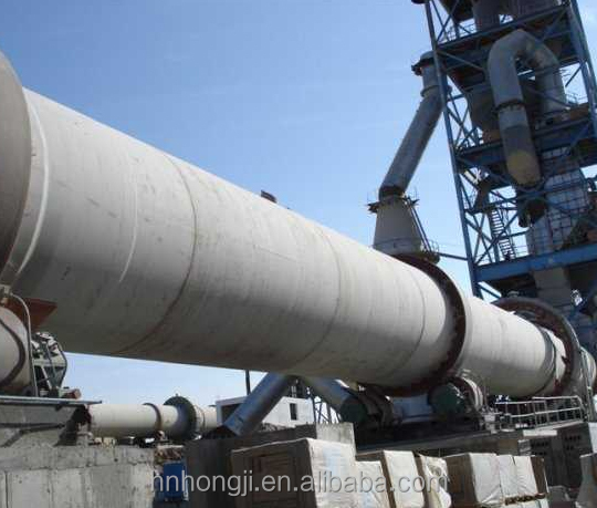 China Top 1200tpd Cement Making Production Line Machinery 300-6000 tpd Cement Rotary Kiln