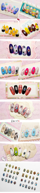 New Designs Bohemia Style Nails Supply And Beauty Japanese Nail Art ...