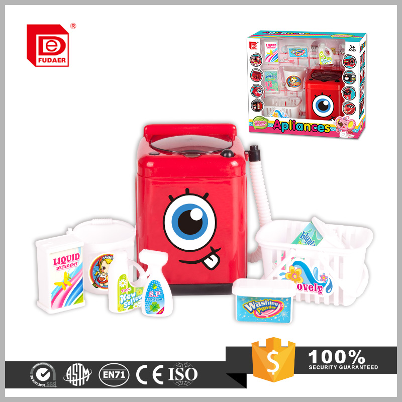 Newest B/O toys cartoon mini washing machine toys
