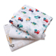 Promotion 100% Cotton Hot Air Balloon Pattern Blanket Baby Muslin Swaddle Blanket