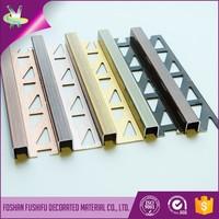 Salable building materials aluminum wall tile edge profile trim