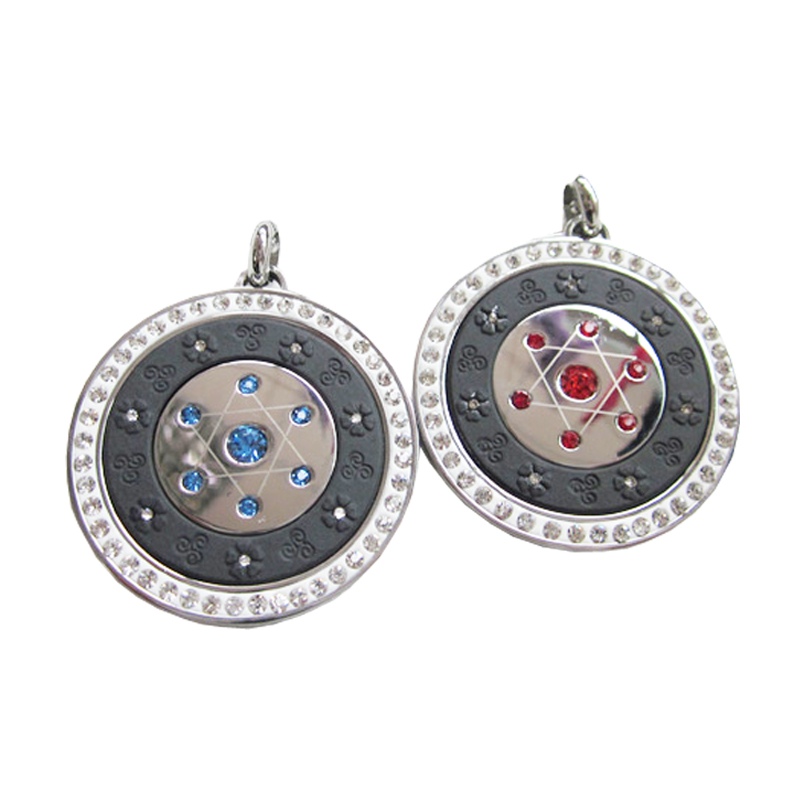 Quantum Energy Pendant Health Care Quantum Scalar Pendant with 7 Star Crystals Back with Magnets фото