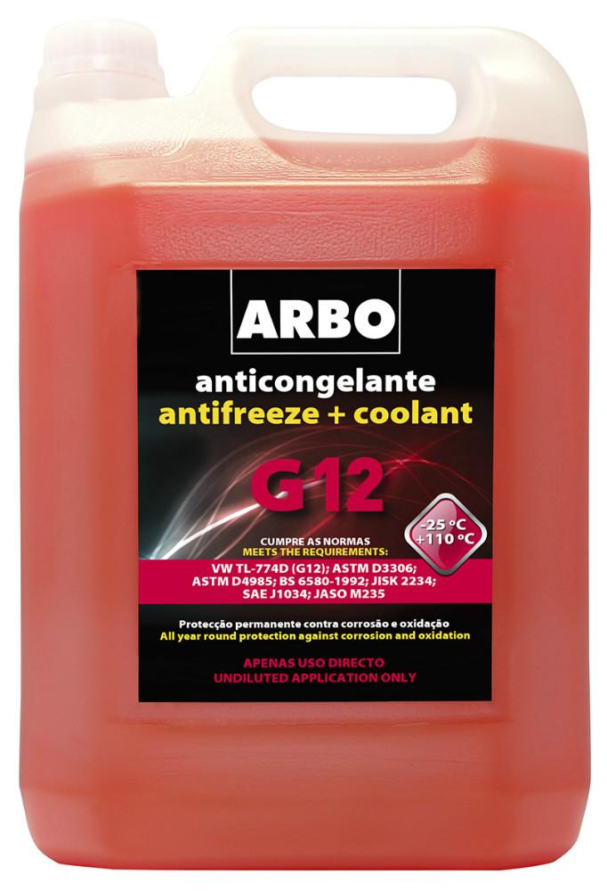 Arbo Antifreeze G12 5l Buy G12 Antifreeze Coolant Product On
