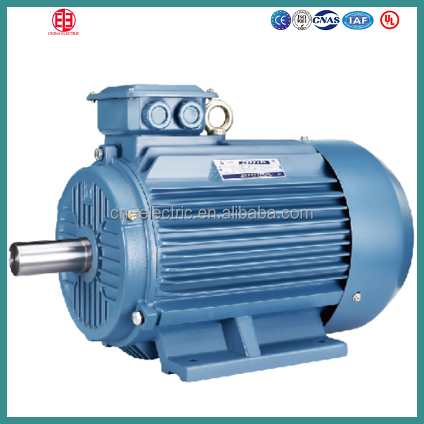 200kw Squirrel Cage AC Electric Motor