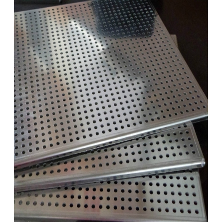 Stainless Steel Punched Hole Mesh/Punching Hole Mesh plate with round holes factory price