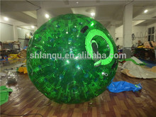 colorful body zorb inflatable bumper ball