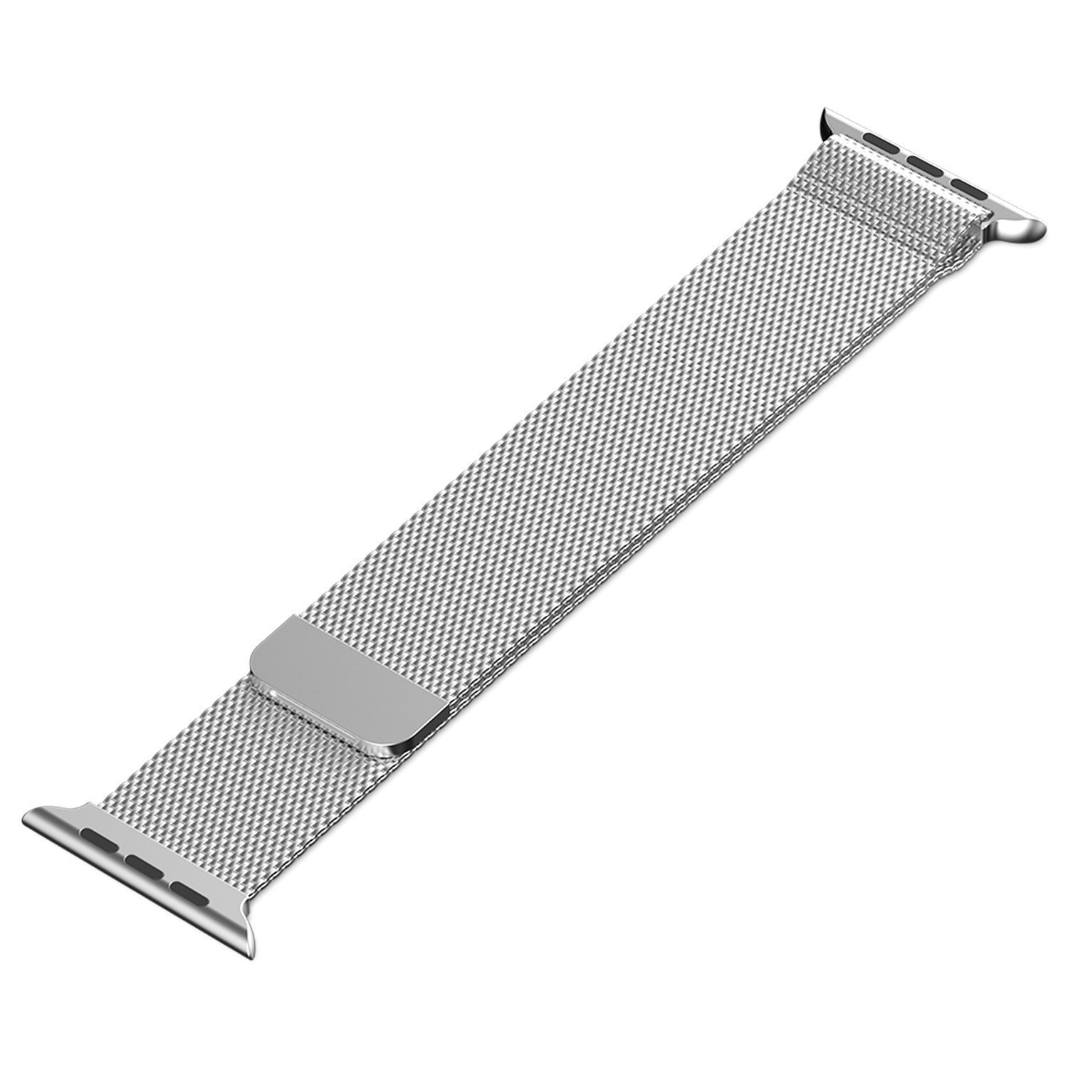 Apple Watch Band, iWatch Band, AsiaFly® 42mm Milanese Loop Stainless Steel Bracelet Strap Band for Apple Watch 42mm All Models Silver