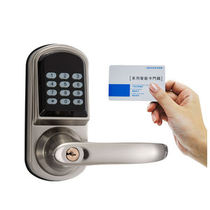 Onlense lock digit cipher lock and card digital door lock Guangzhou Fair