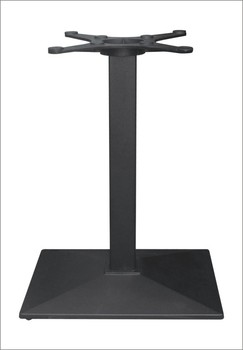 Rectangle cast iron table base square tube metal table leg furniture rectangle cast iron table base square tube metal table leg furniture leg hs a055 watchthetrailerfo