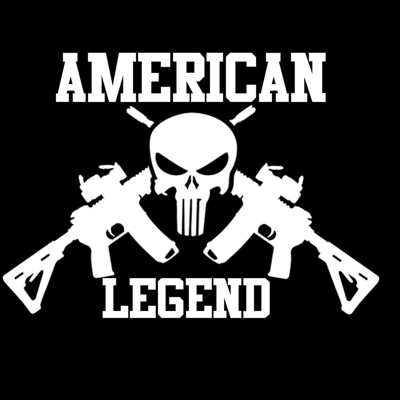 Buy Chris Kyle Punisher Skull Flag ArcDecals78600321 Set Of Two (2x