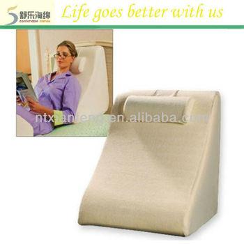 Hot Sale Soft Wedge Memory Foam Reading Bed Pillow 40d Buy Memory
