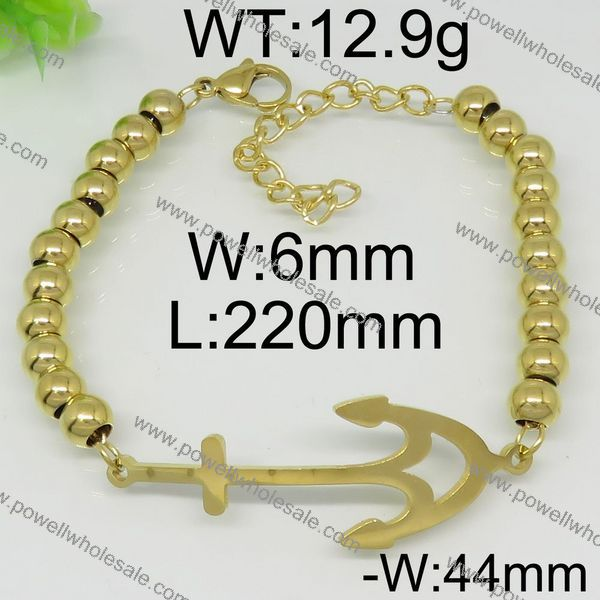 Women's wedding 9ct gold chain bracelet