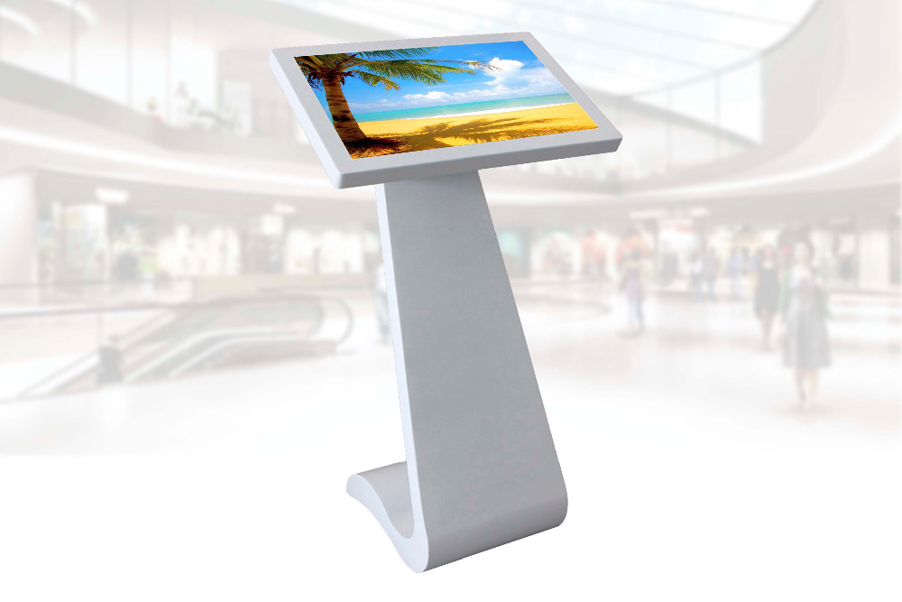 "32"" LCD touch screen kiosk with built-in windows PC"