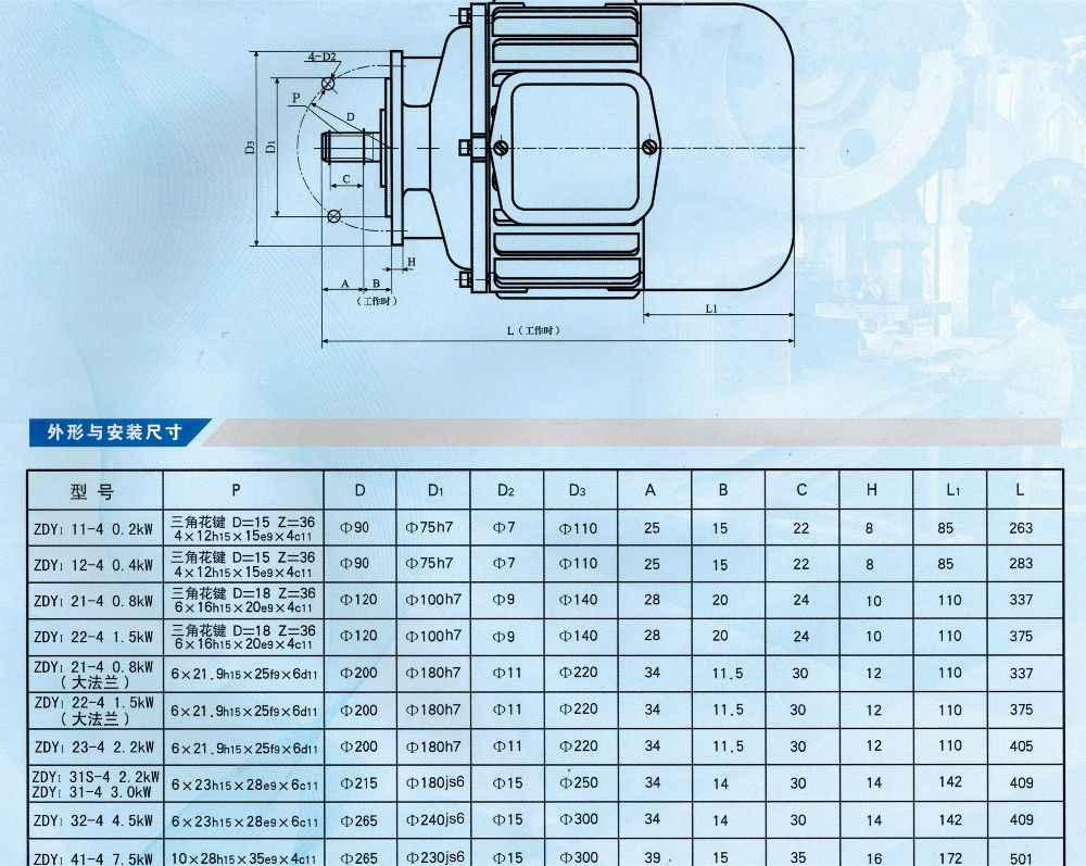 Nucleon Brand Electric Motor for Crane