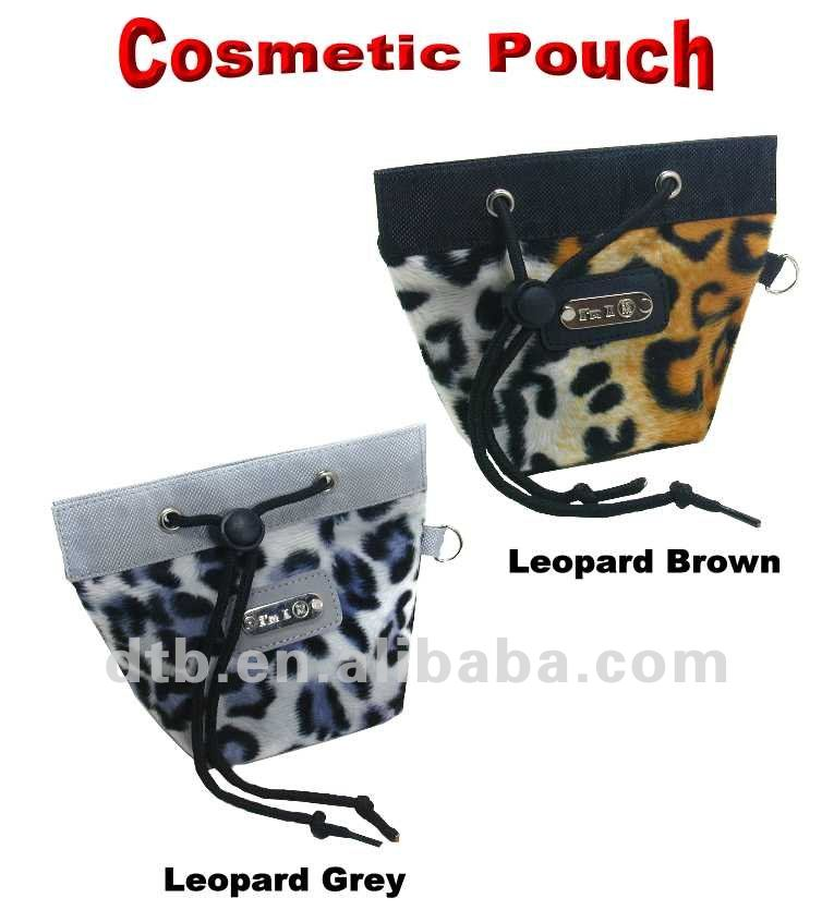 Animal print Smart phone cosmetic pouch bag