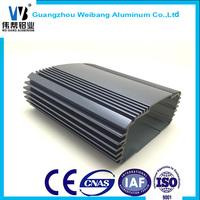 Aluminum extruded shell/aluminum enclosure/heat sink