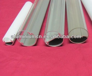 LED strip aluminium profiles/aluminium led tube enclosure aluminium profile factory
