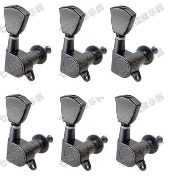 musical instruments 6r electric guitar strings button tuning pegs keys tuner machine heads. Black Bedroom Furniture Sets. Home Design Ideas